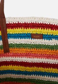 J.CREW - RAINBOW STRIPE MARKET TOTE - Shopping bag - multicoloured - 2