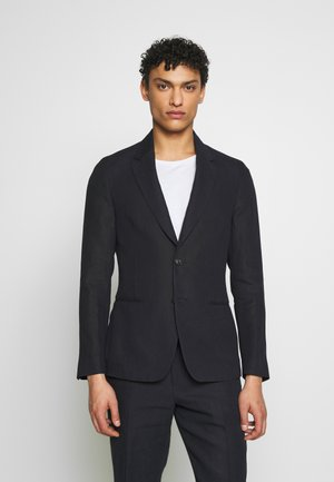 GENTS TAILORED FIT JACKET - Giacca - dark blue