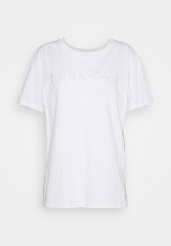 CON LOGO - Basic T-shirt - bianco ottico