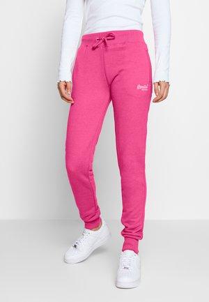 Tracksuit bottoms - fluro pink