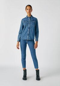 PULL&BEAR - Jeans Slim Fit - dark blue - 1