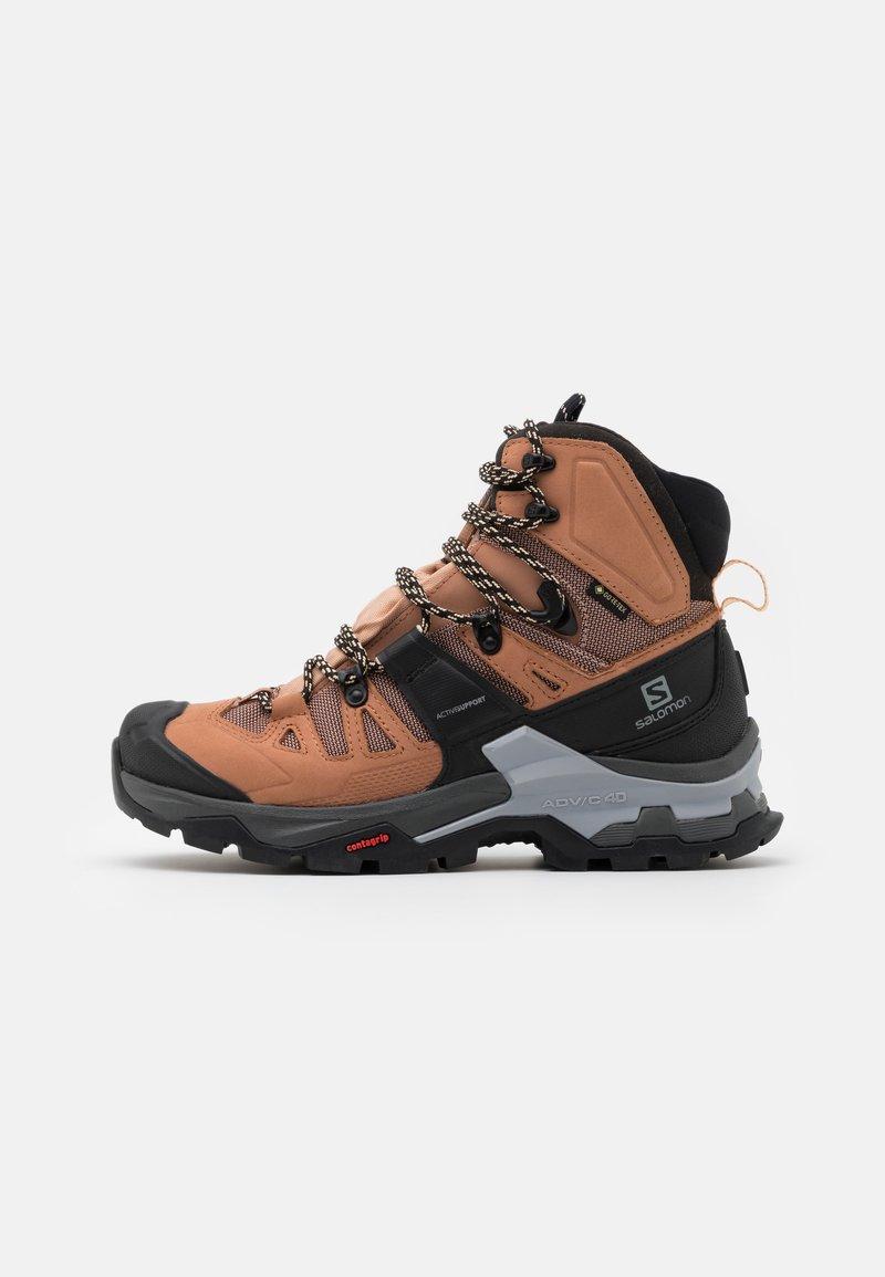 Salomon - QUEST 4 GTX - Hiking shoes - sirocco/mocha mousse/almond cream