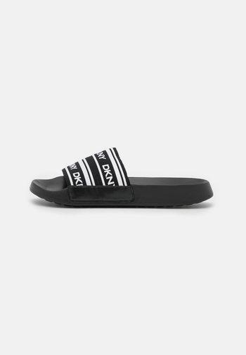 ZALE - Mules - black/white