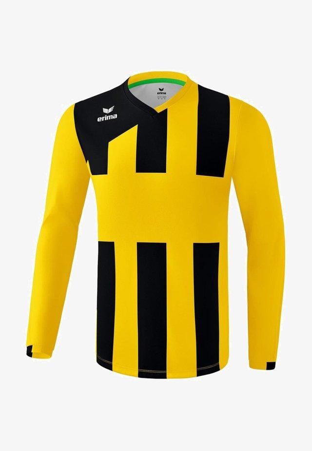 SIENA - Sports shirt - gelb / schwarz
