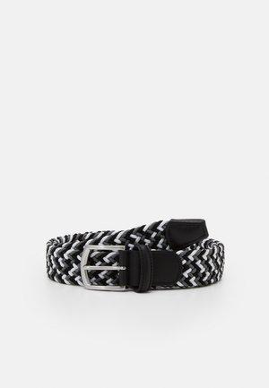 STRECH BELT UNISEX - Pletený pásek - grey