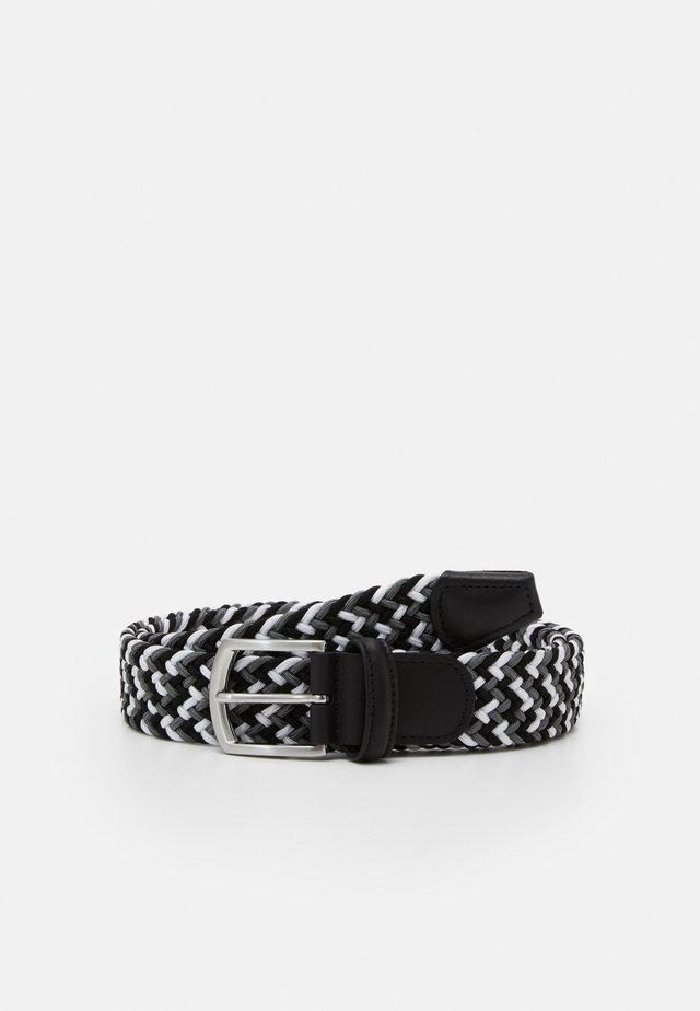 STRECH BELT UNISEX - Braided belt - grey