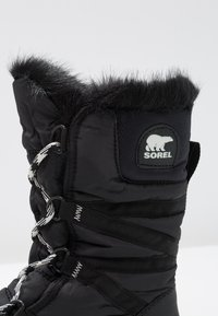 Sorel - WHITNEY TALL LACE  - Vinterstøvler - black - 2
