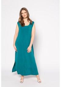 Ulla Popken - Maxi dress - blue - 0