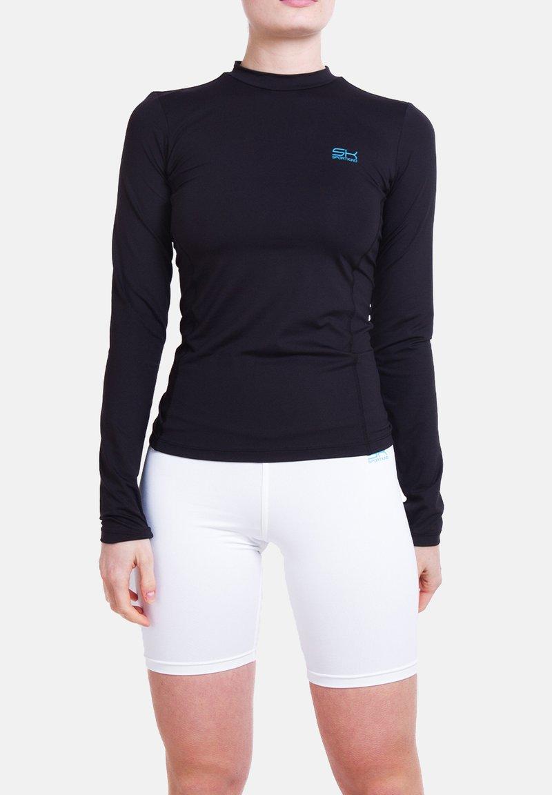 SPORTKIND - Sports shirt - schwarz