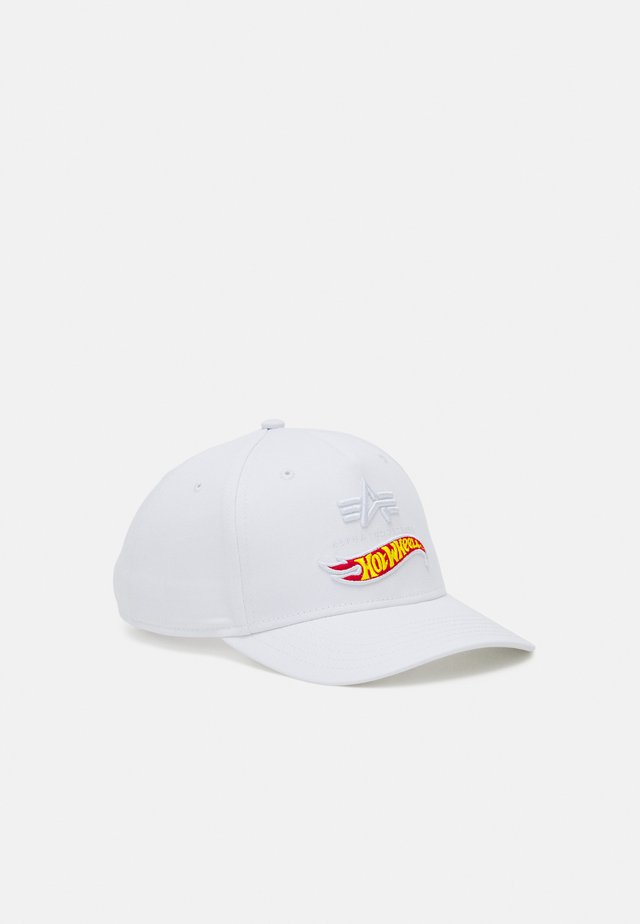 HOT WHEELS FLAG - Casquette - white