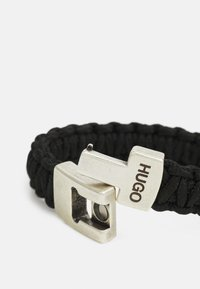 HUGO - MILITARY BRACELET - Náramek - black - 3