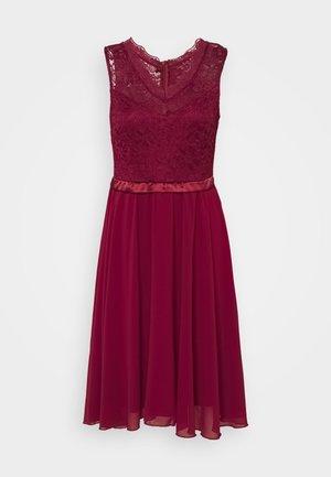 SKYLAR DRESS - Occasion wear - wine