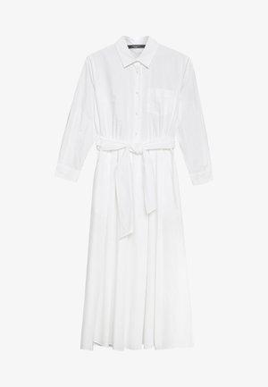 JUMS - Košilové šaty - weiss