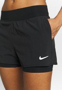 Nike Performance - Pantaloncini sportivi - black/white - 3