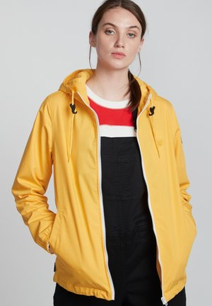 Waterproof jacket - gold