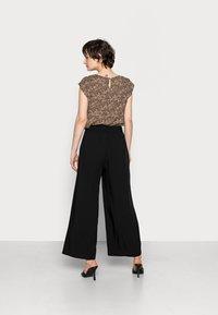 edc by Esprit - PANTS WOVEN - Trousers - black - 2