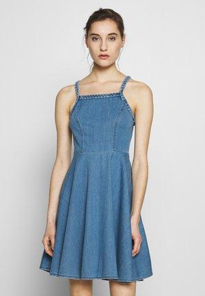 LEDA - Denim dress - blue denim