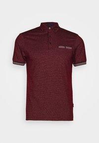 Burton Menswear London - CUFF - Polo shirt - burgundy - 4