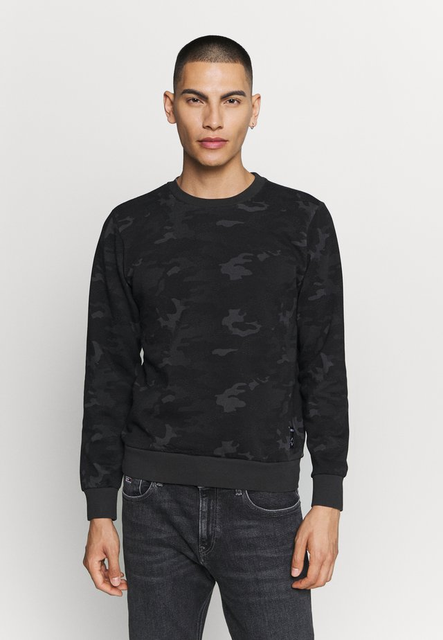 Sweater - blackboard/grey