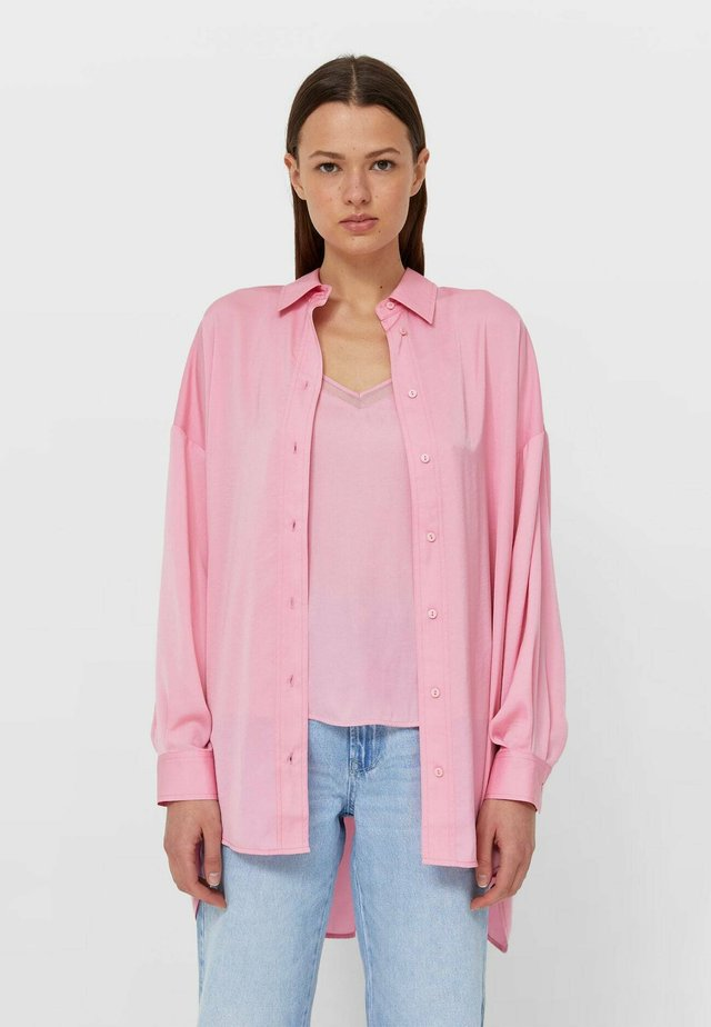 Košile - neon pink