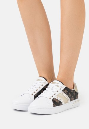 RICENA - Sneakers basse - brown/platin