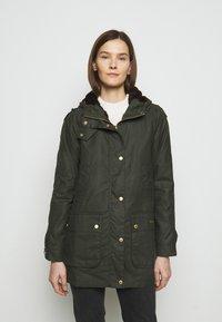 Barbour - AUSTEN WAX - Light jacket - dark green - 0