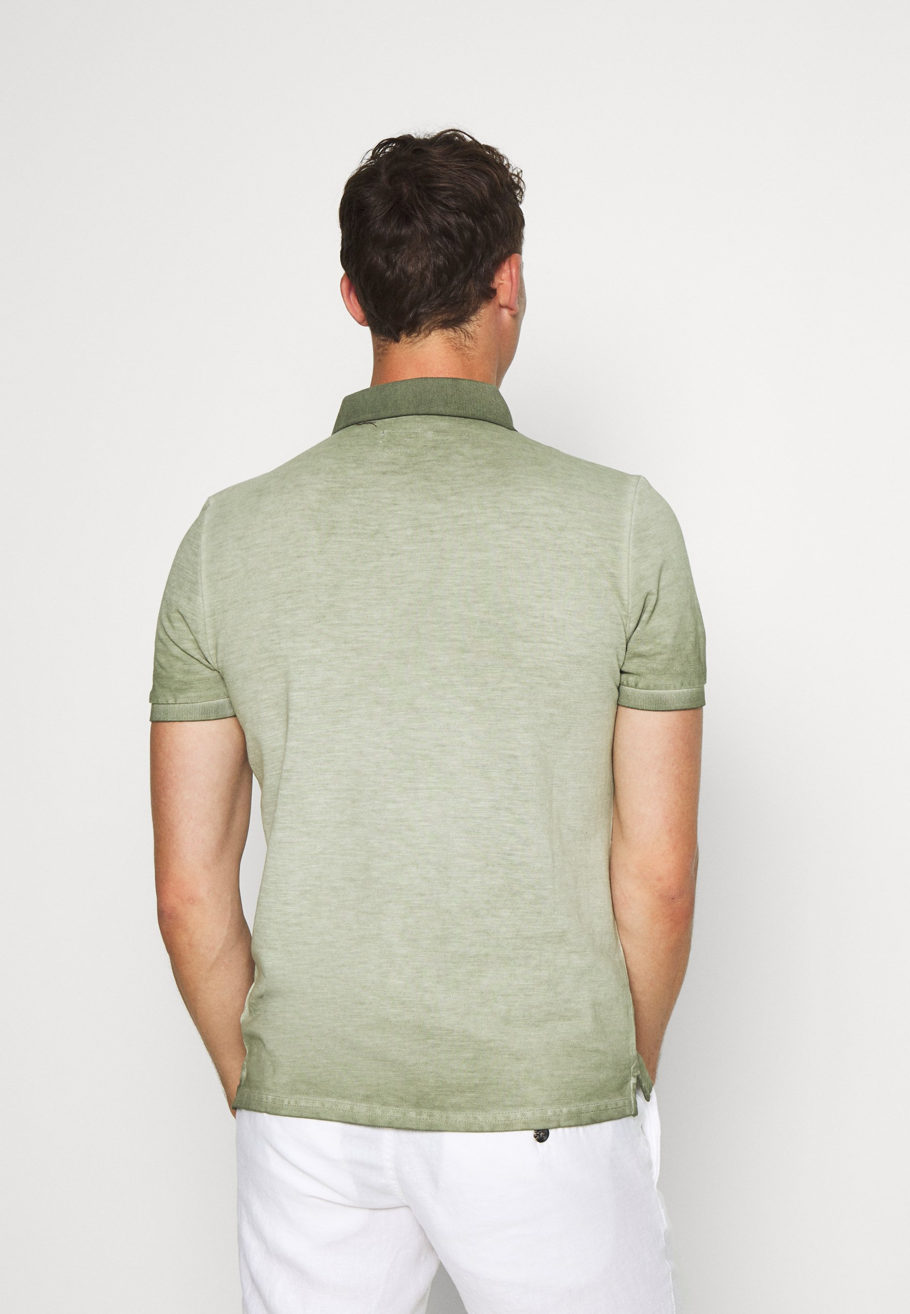 Q/S designed by Polo shirt - seagrass 6sho2