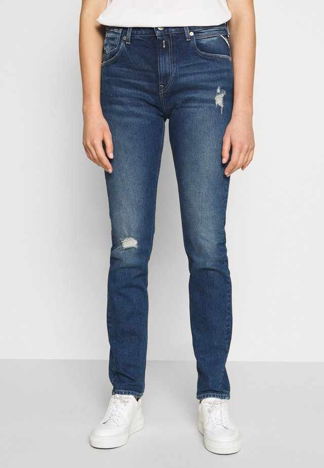 MARTY - Relaxed fit jeans - light blue