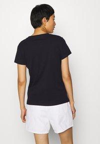 Esprit - CORE - T-shirt z nadrukiem - navy - 2