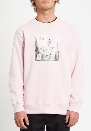 FA CREW - Sweater - snow_pink