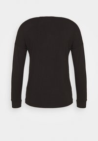 Anna Field - Langærmede T-shirts - black - 1