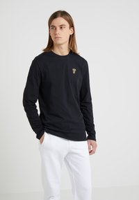 Versace Collection - Long sleeved top - nero/oro - 0