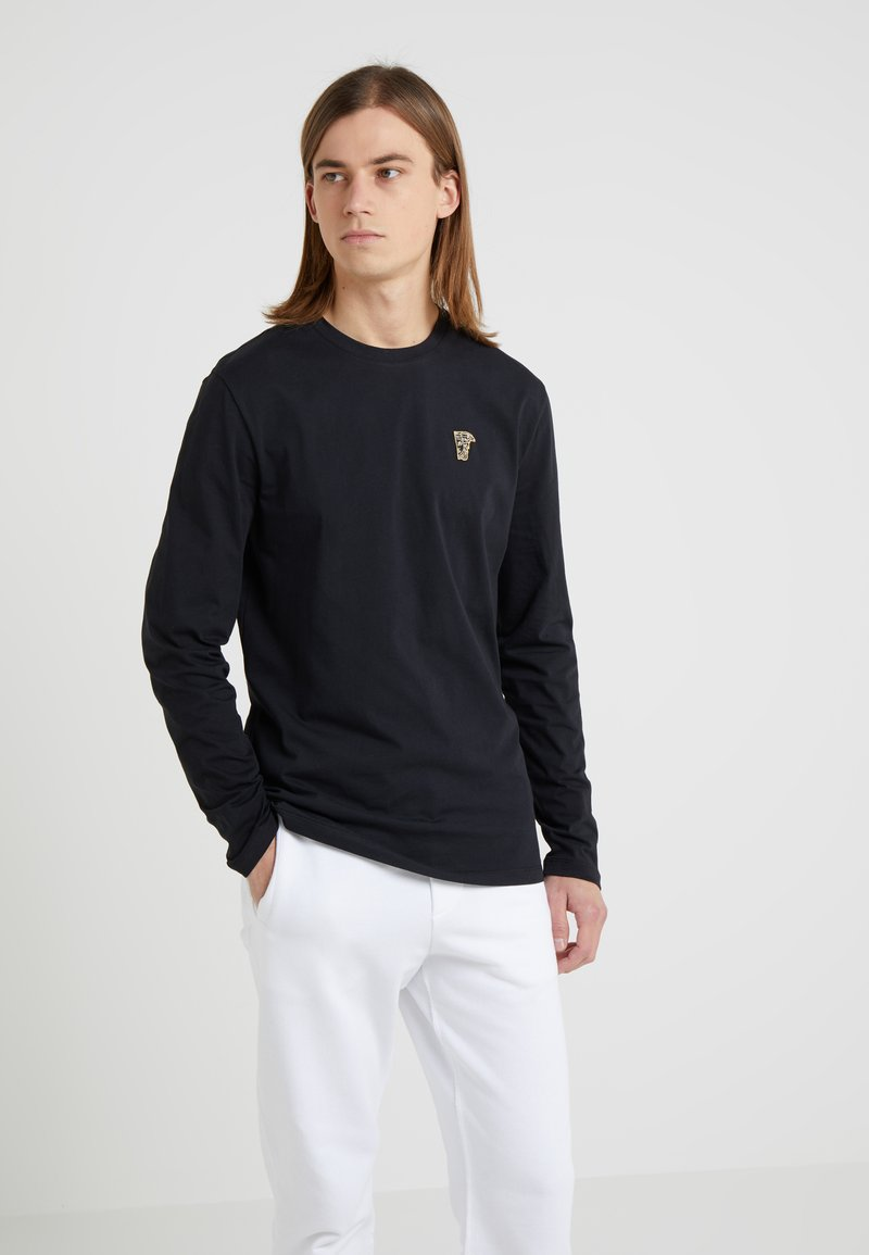 Versace Collection - Long sleeved top - nero/oro