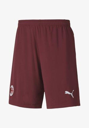 AC MAILAND TRAINING SHORTS - Sports shorts - cordovan