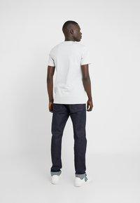 PS Paul Smith - MENS SLIM FIT ZEBRA REPEAT - Print T-shirt - light blue - 2