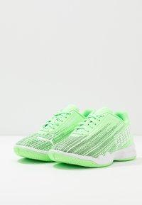 Puma - ADRENALITE 4.1 - Handball shoes - elektro green/white - 3