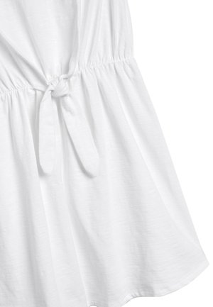 BRODERIE SLEEVE - Day dress - white