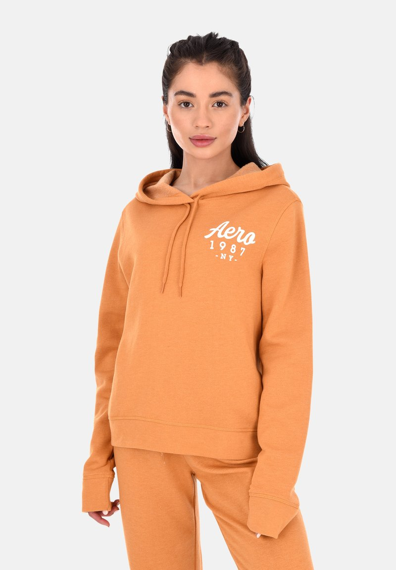 AÉROPOSTALE - Hoodie - yellow