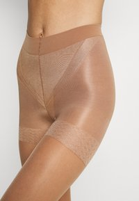 Lindex - TIGHTS 40 DENIER FIRM SHAPING - Strømpebukser - tan - 2