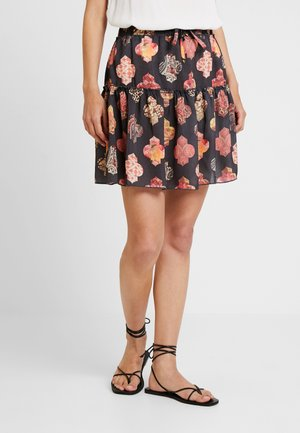 SKIRT SHORT - A-line skirt - black