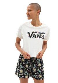 Vans - WM BLOZZOM ROLL OUT - Print T-shirt - marshmallow - 0
