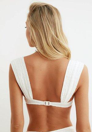 Bikini top - cream