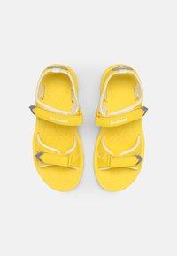 Hummel - SPORT UNISEX - Sandals - yellow - 3