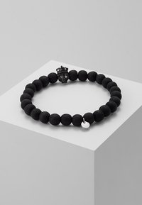Tateossian - KING SKULL - Bracelet - black - 0