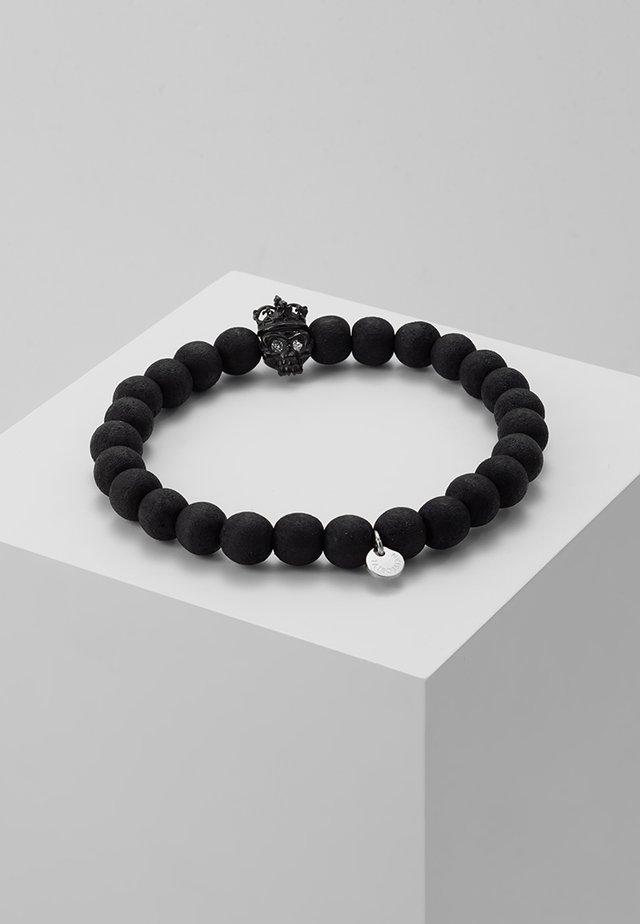 KING SKULL - Bracelet - black