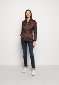 Barbour International - GLEANN QUILT - Light jacket - cocoa - 1