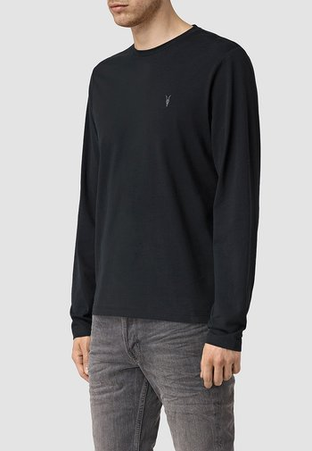 BRACE CREW - Long sleeved top - jet black