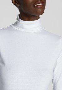 Anna Field - BASIC - T-shirt à manches longues - white - 4