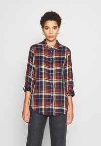 s.Oliver - Button-down blouse - dark blue - 0