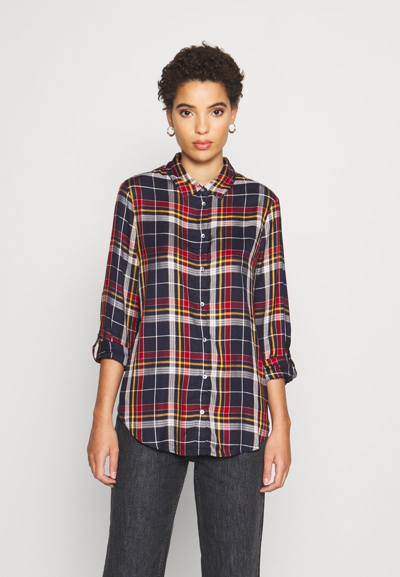 s.Oliver - Button-down blouse - dark blue